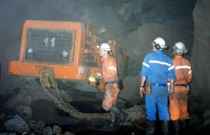 Underground loader