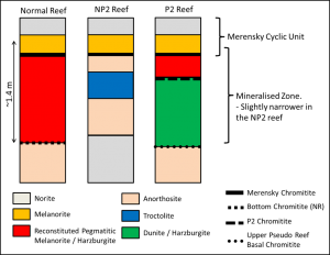 Schematic of the three reef types